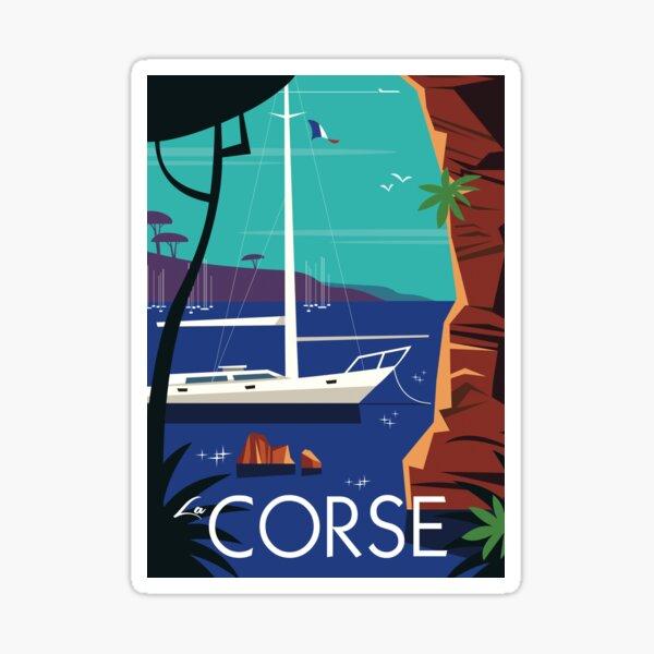 Affiche La Corse Sticker