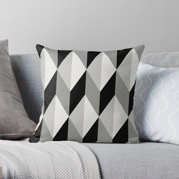 Geometric Eleganza Throw Pillow