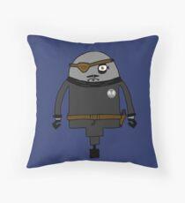 Nick Furious Throw Pillow