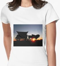 Riding into the Sunset... Women's Fitted T-Shirt