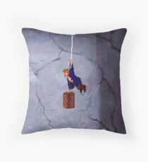 Monkey Island II Throw Pillow