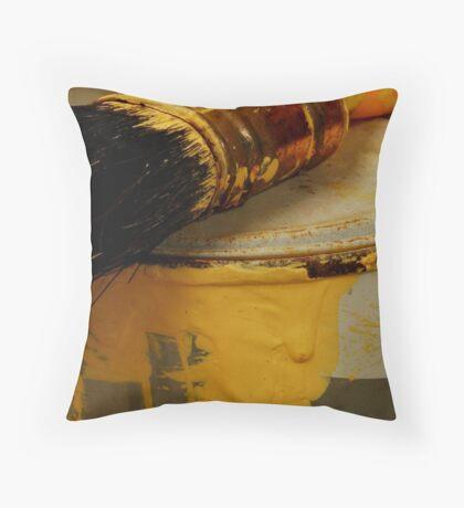 Paint Job Throw Pillow