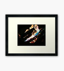 Open Fire!!! Framed Print