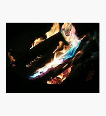 Open Fire!!! Photographic Print