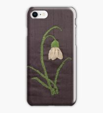Snowdrop, the first welcoming signs of Spring iPhone Case/Skin
