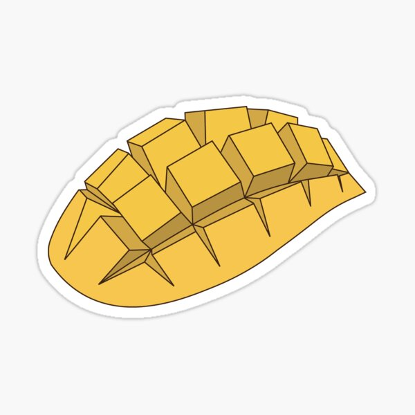 Manila Mango Sticker
