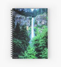 Cascade Into The Celtic Pool Spiral Notebook