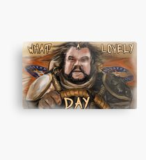 What a lovely day. Metal Print
