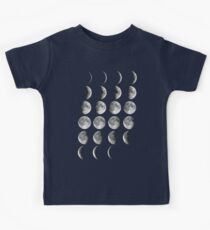 Moon Phases Kids Tee