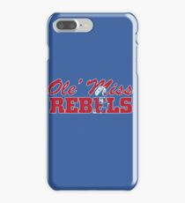 OLE MISS WITH EMBEDDED MASCOT iPhone 7 Plus Case