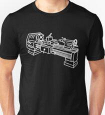 Mechaniker Drehbank Slim Fit T-Shirt