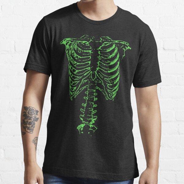 Green Ribcage  Essential T-Shirt