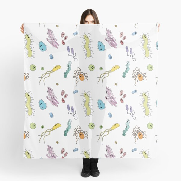 We're With Stupid (Smart Microbes) - For Light Shirts Scarf