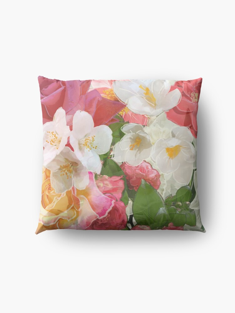 Alternate view of Alhambra Flowers Floor Pillow