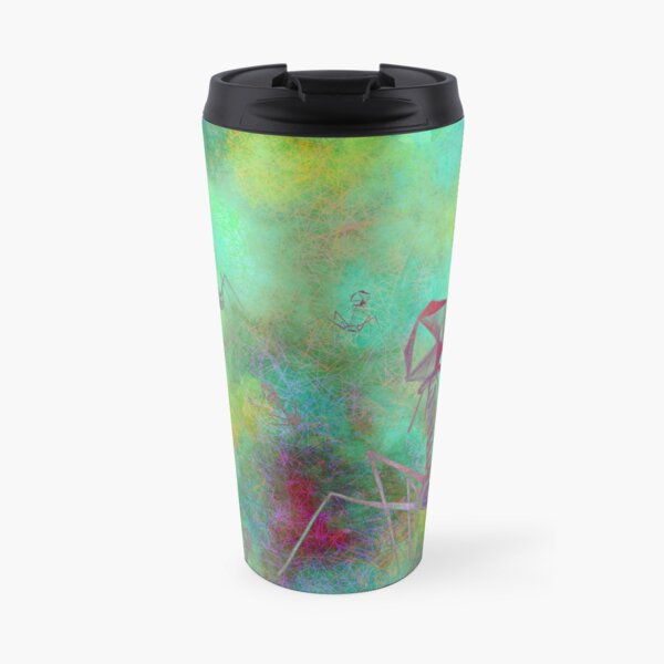 Bacteriophage Invasion  Travel Mug