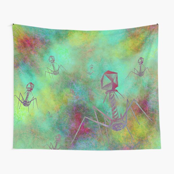 Bacteriophage Invasion  Tapestry