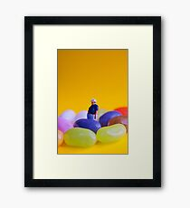 Jelly Belly! Framed Print