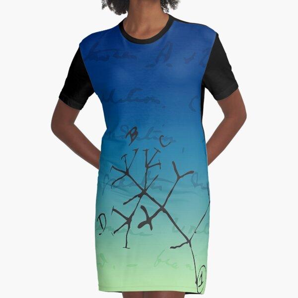 Darwin Thinks Graphic T-Shirt Dress