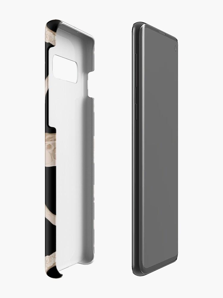Alternate view of Ruffed Lemur bones Case & Skin for Samsung Galaxy