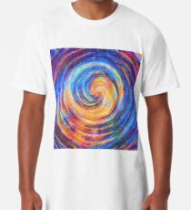 Abstraction of vortex wave Long T-Shirt