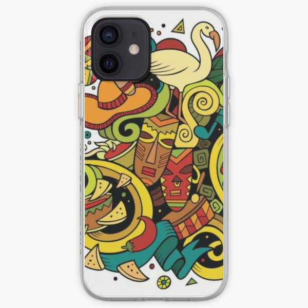 #Sphere, #illustration, #design, #ball, shape, separation, circle, retro style, cartography, physical geography, square iPhone Soft Case