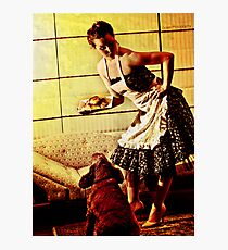Kirsty - 50s House Wife Photographic Print