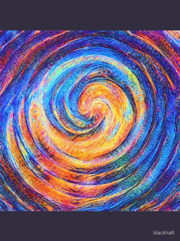 Abstraction of vortex wave by blackhalt