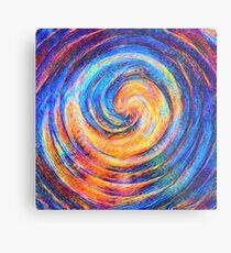 Abstraction of vortex wave Metal Print