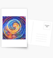 Abstraction of vortex wave Postcards