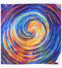 Abstraction of vortex wave Poster