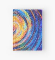 Abstraction of vortex wave Hardcover Journal