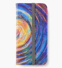 Abstraction of vortex wave iPhone Wallet/Case/Skin