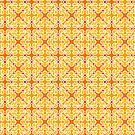 Orange Pattern 1 by pufahl