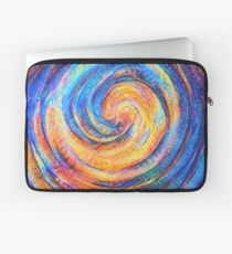 Abstraction of vortex wave Laptop Sleeve