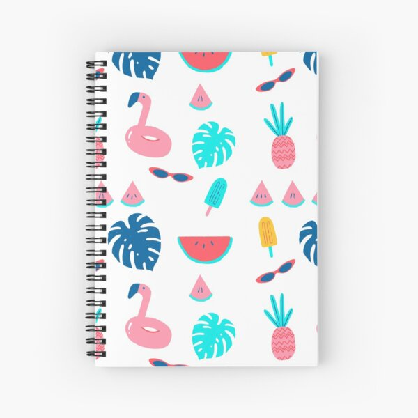 Pool VIP Party Spiral Notebook
