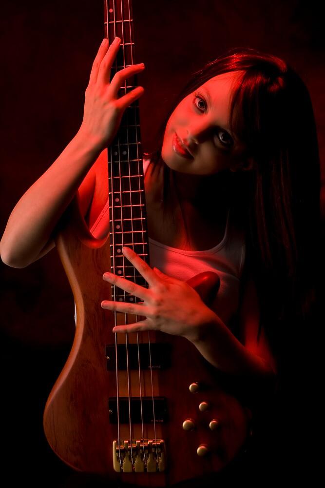 Da Bass in the Hands of da Devil (cheeky!) #2 by Mark Elshout