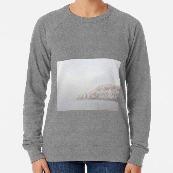 Frosty River View - Waterside Derry Ireland  Lightweight Sweatshirt