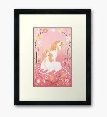 Unicorn Paradise Framed Print