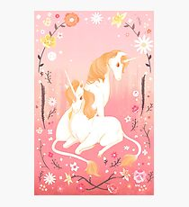 Unicorn Paradise Photographic Print