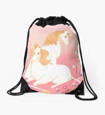 Unicorn Paradise Drawstring Bag