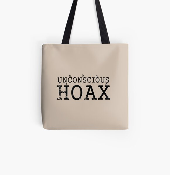 the Unconscious is a HOAX iii All Over Print Tote Bag