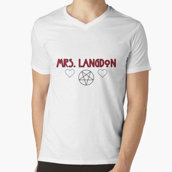 Mrs. Langdon V-Neck T-Shirt