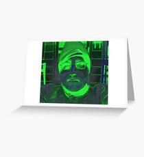 15 00101 0 x tri-color 4  Greeting Card
