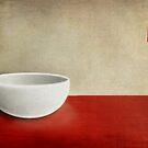White bowl by Purplecactus