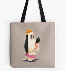 Droopy in a Tutu Tote Bag
