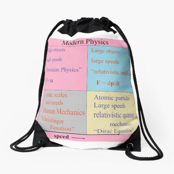#Modern #Physics. Newtonian, #Relativistic #Mechanics, Schrodinger Equation, Dirac Drawstring Bag