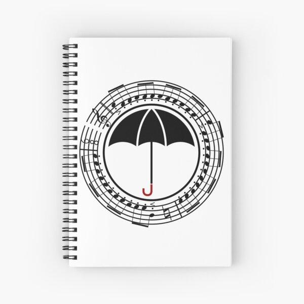 "The Umbrella Academy - Number Seven ""Vanya"" (Black Variant) Spiral Notebook"