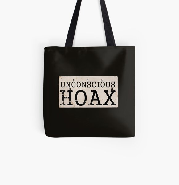 the Unconscious is a HOAX ii All Over Print Tote Bag