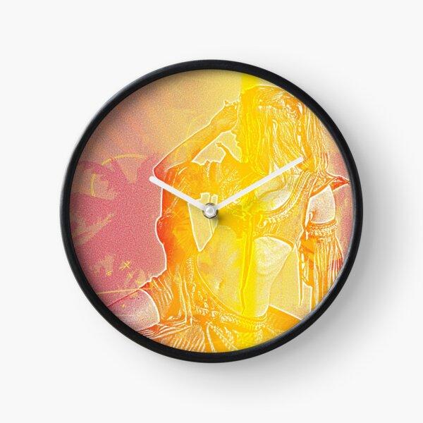 Desert Dreams Belly Dance Clock