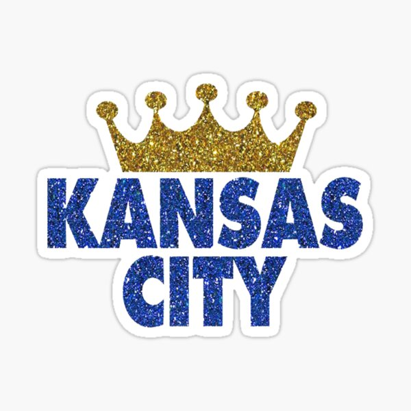 Got Royal Kansas City KC Royals T-Shirt Sticker